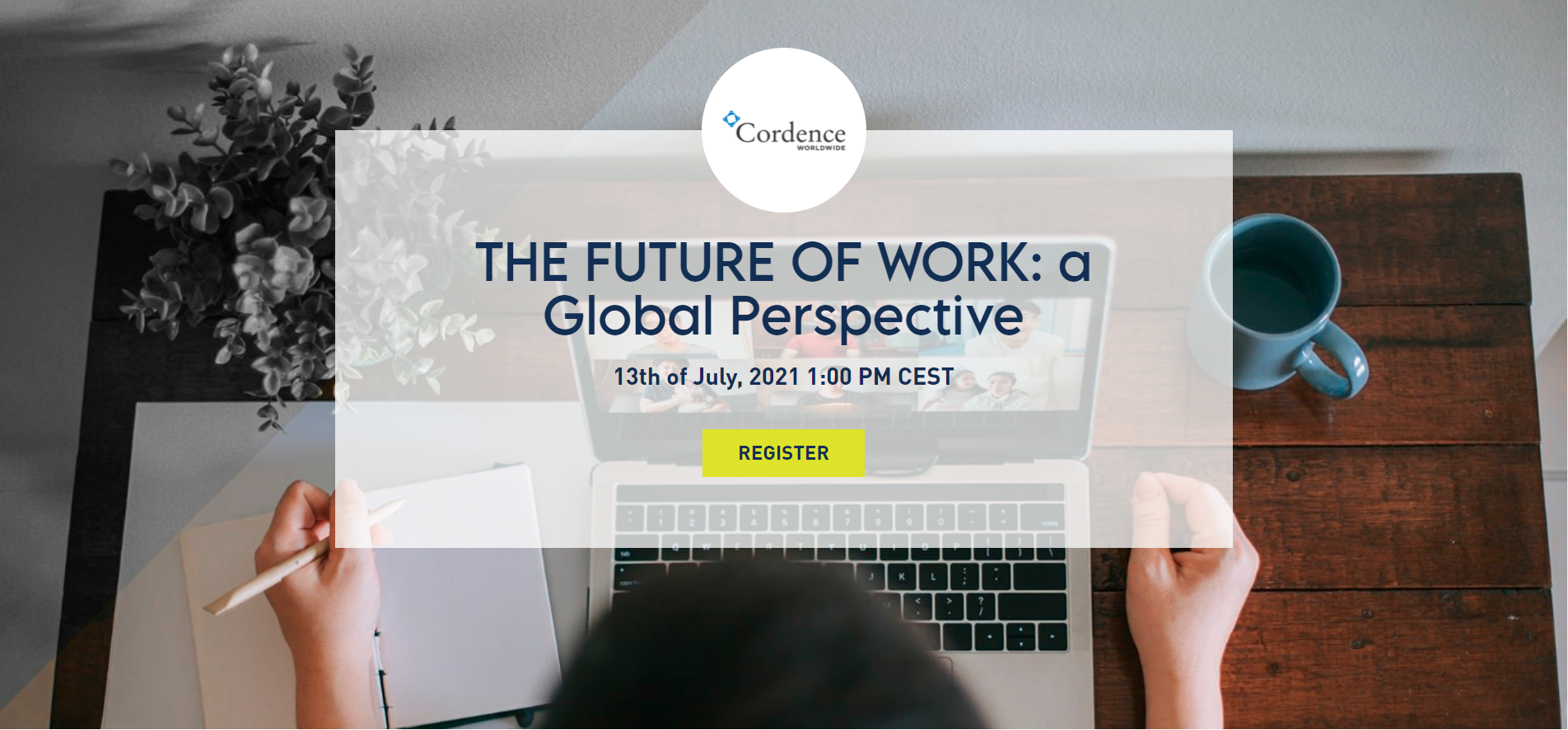 Future of Work Site page